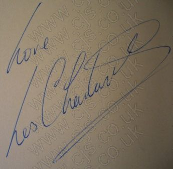 [les chadwick gerry and the pacemakers autograph 1960s]