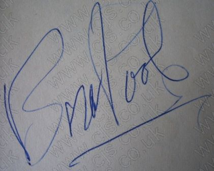[the tremeloes brian poole autograph 1960s]