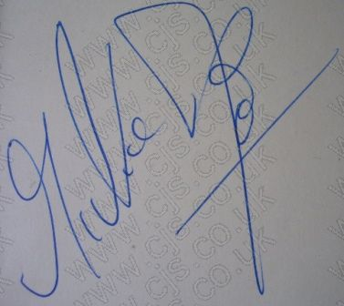 [mickie most autograph 1960s]