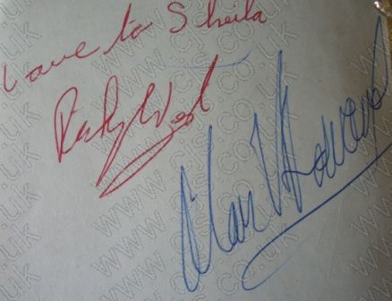 [the tremeloes rock west alan howard autograph 1960s]
