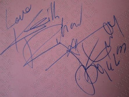 [keith richard and bo diddley rolling stones autograph 1960s]