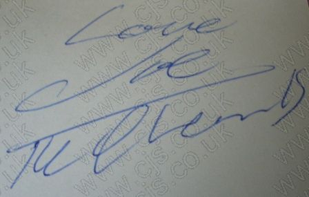 [searchers tony jackson autograph 1960s]