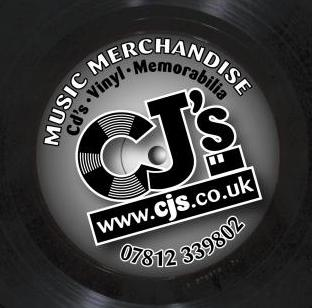 [CJS Music Merchandise - Rare Deleted Vinyl Records, CDs, Collectable Memorabilia]