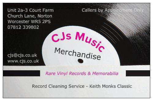 [CJs Music Merchandise]